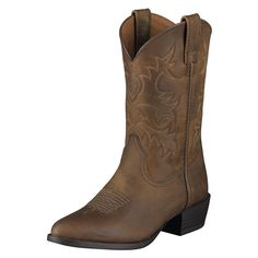 Young folks connect to the Old West, and these boots are a part of that connection. 4LR