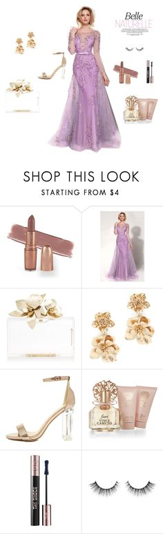"""""""Fairy Tale Gal"""" by newyorkdressonline on Polyvore featuring Oscar de la Renta, Wild Diva, Vince Camuto, Yves Saint Laurent, gold, fairytale, rosegold and mnmcouture"""