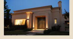 Casa PB — Estudio Junor Modern Bungalow House Design, Best Modern House Design, Small House Design, Modern House Plans, Flat Roof House, Facade House, Casas Country, Classic House Exterior, House Outside Design