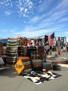 Held once a month on the first Sunday of the month, this massive flea market draws crowds from around the area.