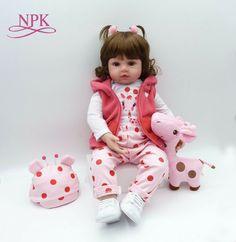 Toys & Hobbies Expressive Latest New 58cm Silicone Reborn Boneca Realista Fashion Baby Dolls For Princess Children Birthday Gift Bebes Reborn Dolls