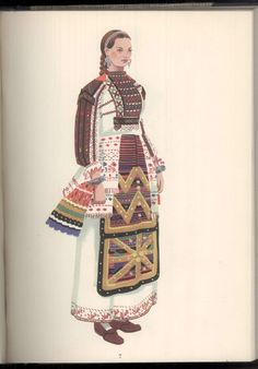 Folk Costume, Costumes, Eslava, Medieval Clothing, Cultural, My Heritage, Folklore, Art Inspo, Old Photos