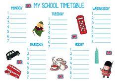 Nieważne, w jakiej szkole uczysz czy do jakiej szkoły uczęszcza Twoje dziecko– w każdej z nich uczniowie potrzebują planu lekcji. Dlatego przygotowałam kilka wzorów planów lekcji do druku. D…