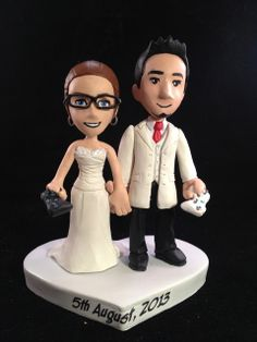 The Tree Swing Custom Wedding Cake Topper By WeddingsAndWire 18000
