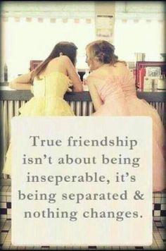 true friendship--Melissa and Bon Bon :)
