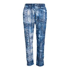 Patterned Trousers - Lindex
