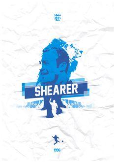 Alan Shearer  - Heroes by Richard Debenham