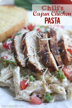 Chili's Cajun Chicken Pasta :   An easy and delicious meal for the family that tastes just like the real thing!