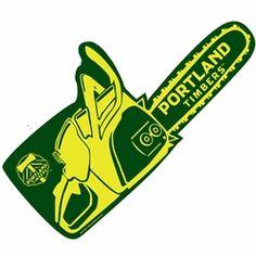 Portland Timbers Foam Chainsaw - Green  $10.00