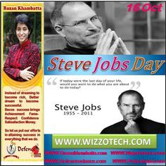 Steve Jobs Day Steve Jobs was a world famous businessman thought leader and visionary. He spearheaded and revolutionised a number of industries and lead organisations of the like of Apple Pixar and many other household names.  #RuzanKhambatta #Day #specialcelebration #PoliceHEART1091 #PoliceHEART #Entrepreneur #Celebrate #WorldDay #National #NationalDay #InternationalDay #International #UN #US #SpecialDay #India #SteveJobsDay