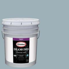 5 gal. #HDGCN32D Soft Traditional Blue Eggshell Interior Paint with Primer