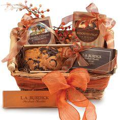 Burdick Chocolate: Thanksgiving Gift Basket
