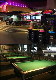 Relax and shoot some pool at our billiards area then cool off with a drink at our sports bar. We have 3 large projectors and 11 LED TVs for your viewing pleasure. #XLanesLA  www.xlanesla.com (213) 229-8910