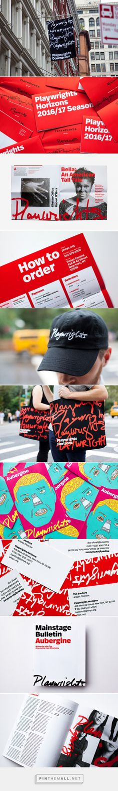 Playwrights Horizons by Pentagram... - a grouped images picture - Pin Them All