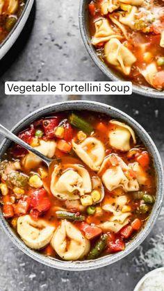 Pasta Recipes, Soup Recipes, Vegetarian Recipes, Dinner Recipes, Cooking Recipes, Healthy Recipes, Healthy Eats, Dinner Ideas, Salads