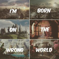I'm born on the wrong world ? on We Heart It divergent, narnia, and harry potter afbeelding Images Harry Potter, Harry Potter Puns, Book Memes, Book Quotes, Film Meme, Fandom Quotes, Fandom Crossover, Book Fandoms, I Love Books