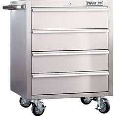 tool chest stainless steel - Google Search