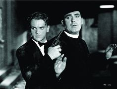 James Cagney and Pat O'Brien in Angels with Dirty Faces