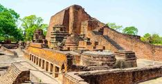 UNESCO has declared Bihar's ancient Nalanda University as a World Heritage Site. Bodh Gaya, Grand Staircase, Tourist Places, India Travel, Incredible India, World Heritage Sites, First World, University, The Incredibles