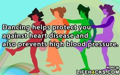 Dancing helps protect you against - #Dance, #Dancing, #Health