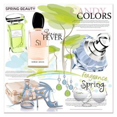 """""""#springscent I"""" by betiboop8 ❤ liked on Polyvore featuring beauty, Terry de Gunzburg, Chopard, Globe-Trotter, Victoria Beckham, Armani Beauty, Maison Margiela, Seraphina, Chelsea Paris and springscent"""
