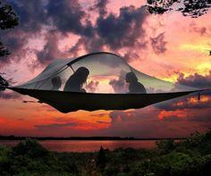 Кемпинг Шатра Дерева Джунгли 2 Человек Новый Подключения Висит Гамак отдых туризм открытый выживший портативный mosquitoe гамак