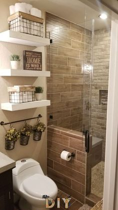 Life-changing bathroom remodel ideas for small spaces Looking to update your bathroom? Check out these affordable small bathroom remodel ideas and designs. Get inspired for your next home remodeling project. Small Bathroom Decor, Bathroom Interior, Bathroom Decor, Small Bathroom Remodel, Amazing Bathrooms, Bathroom Remodel Shower, Bathrooms Remodel, Bathroom Design Small, Bathroom Renovations