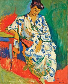 Amin Jaffer picks Madame Matisse Au Kimono (1905) by André Derain from the Vault…