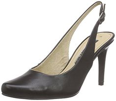 Tamaris 29609, Damen Slingback Pumps, Schwarz (BLACK MATT 015), 37 EU - http://on-line-kaufen.de/tamaris/37-eu-tamaris-29609-damen-slingback-pumps-8