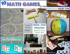 Mom to 2 Posh Lil Divas: 10 Fun and Hands-on Math Games for Kids