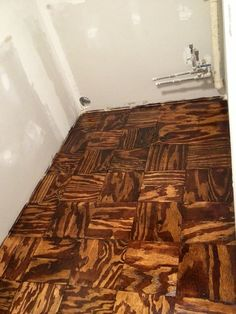 Torched Plywood Floors Oui Designs By Ouida Gardner In