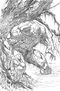 Swamp Thing by Jason Fabok! (DC comics)