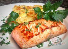 Nejlepší foukané rohlíčky | NejRecept.cz Food Displays, Sweet And Salty, Baked Potato, Paleo, Food And Drink, Turkey, Treats, Fish, Chicken