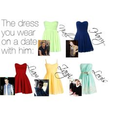 """""""One Direction Imagine - Dress"""" by contestwinner311 on Polyvore"""