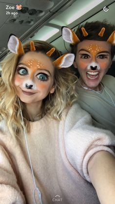 Zoe Sugg and Mark Ferris look adorable in that snapchat filter