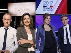 Quel duo de présentateurs préférez-vous suivre lors des soirées électorales ?