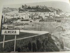 Entrada por la carretera de Aguadulce a Almería (años '50 del siglo XX)