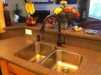 Pfister Wheaton Tuscan Bronze 1 Handle Pull Down Sink Kitchen