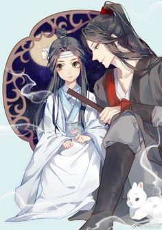 Lad Zhan And Weiying 500 Ideas In 2020 Anime The Grandmaster Anime Boy