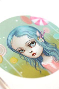 Lolita Lollipop - Limited Edition fine art print by Mab Graves