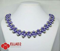 2-hole Zoliduos bead necklace pattern for purchase