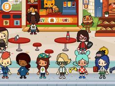 Toca Life: City, a metropolis filled with everyday fun! Safe and fun app for kids 8+
