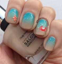 summer+nail+art+designs+2015 | 18 Beach Nail Art Designs Ideas Trends Stickers 2015 Summer Nails 3 18 ...