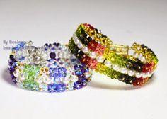 Pattern bijoux: Bracciale Twin Ixora