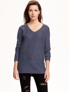 Marled vneck tunic from Old Navy