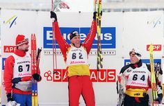 Spanish cross-country skier Johann Mühlegg wasn't smiling after testing positive for a banned stimulant at the 2002 Salt Lake City Games, which resulted in his disqualification and the forfeiture of gold medals in the 50-kilometer individual race, 30-kilometer freestyle and 20-kilometer pursuit.