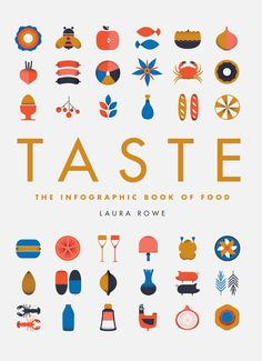 Taste Cover- love this. The icons are cute, I love food, projects are all about food... this is just perfect. The cover design, the icons and the palette. Tasty.