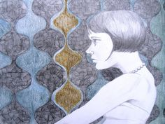""" Thinking "" by Kerrri Blackman."