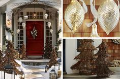 large ornaments for outdoor tree - Google Search