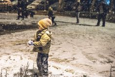 children playing with snow Athens City, Athens Greece, Kids Playing, Snow, Photo And Video, Children, Instagram, Young Children, Boys Playing